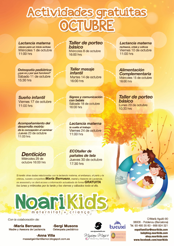 Poster octubre 2014 Noarikids (Small)