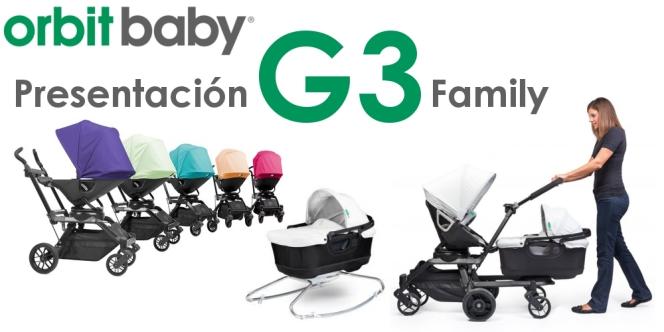 Presentación Orbit Baby G3 en Noari Kids