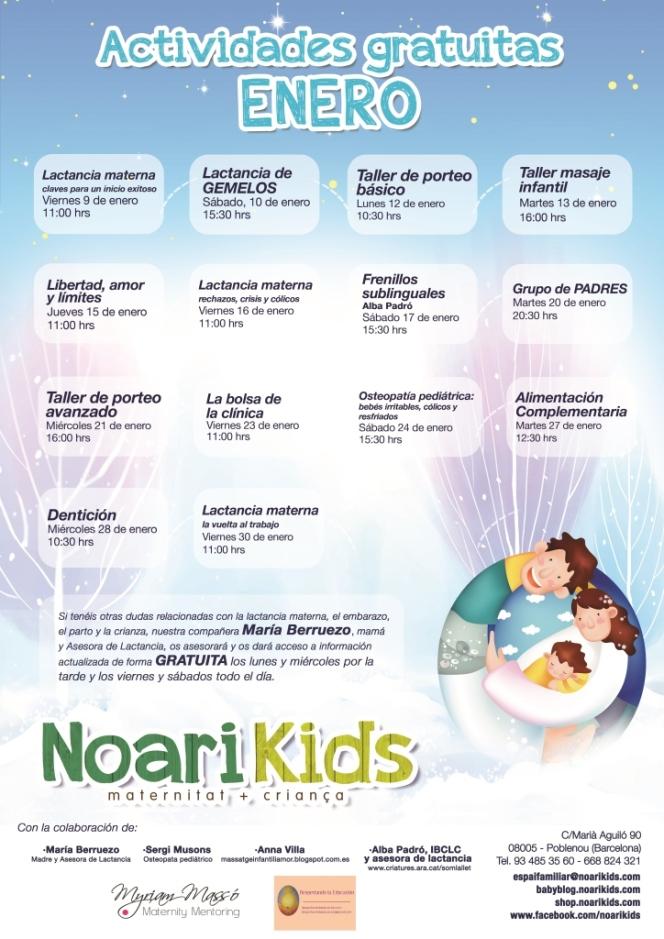 Poster ENERO 2015 Noarikids_