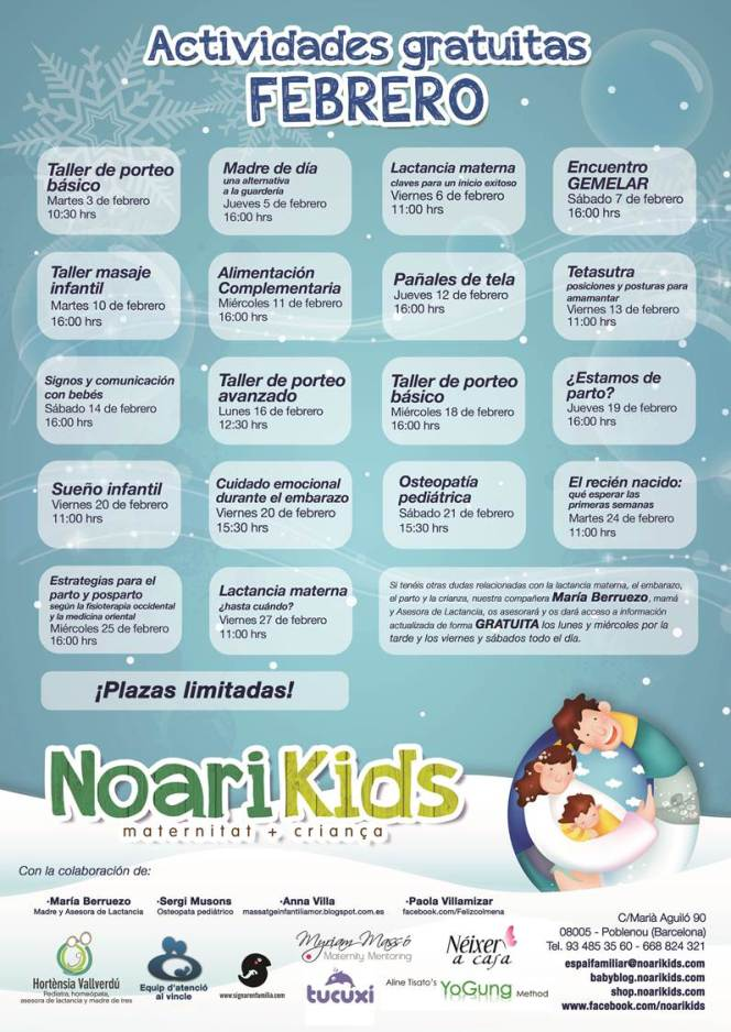Noari Kids Actividades Gratis