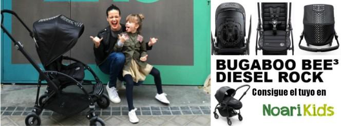 Compra tu bugaboo bee diesel rock en Noari Kids